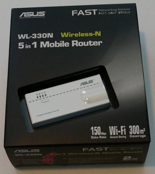 ASUS WL-330N Router Windows 8 X64