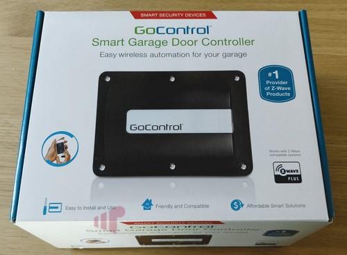 Gocontrol Linear Gd00z 4 Z Wave Plus Garage Door Controller Missing Remote