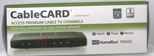 SiliconDust HDHomeRun PRIME Digital Cable Tuner - Missing Remote