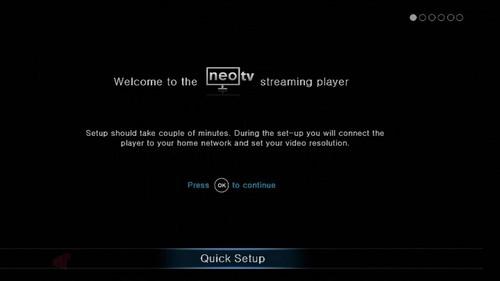 NETGEAR NeoTV - NTV200 Connected Media Streamer - Missing Remote