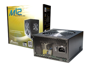 Seasonic M12 Box and PSU