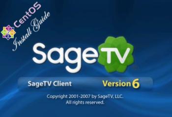 SageTV CentOS 5 Install Guide