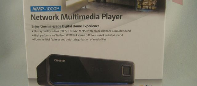 QNAP NMP-1000P Media Player - Missing Remote