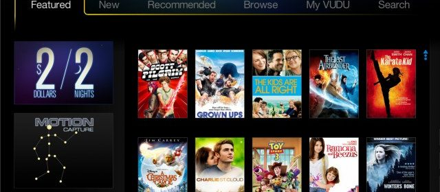 VUDU Updates UI On Most Devices - Missing Remote