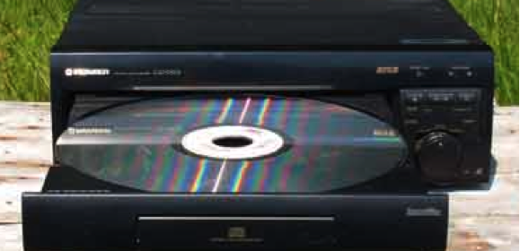 Pioneer LaserDisc Player