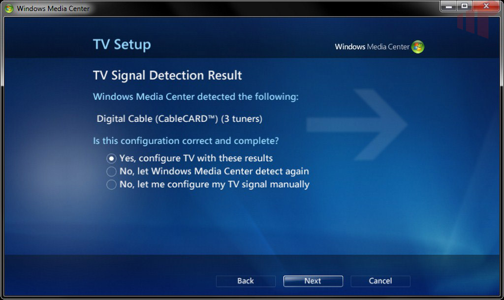 WMC TV Tuner Setup - Missing Remote