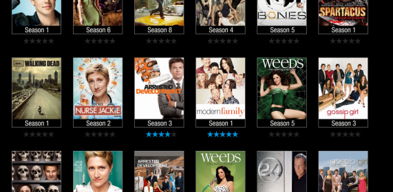 VUDU TV Shows