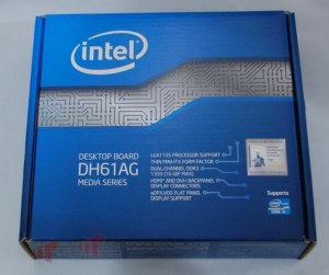 Intel DH61AG Thin Mini-ITX Media Series Motherboard