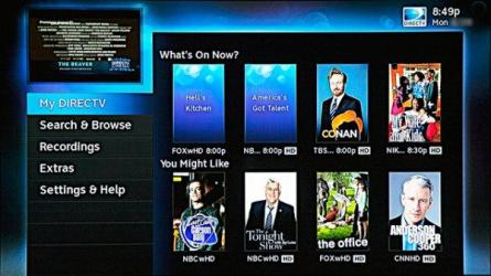 DirecTV HD UI