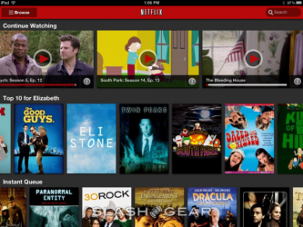 Netflix 2.0 for iOS