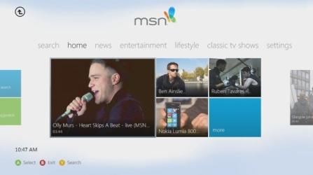 Xbox MSN App