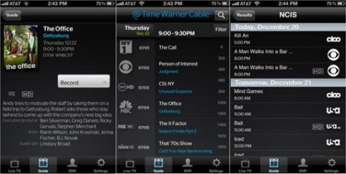 TWC iPhone App