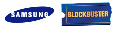 Blockbuster and Samsung