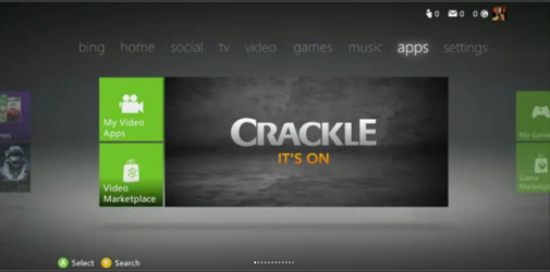 Crackle on Xbox Live