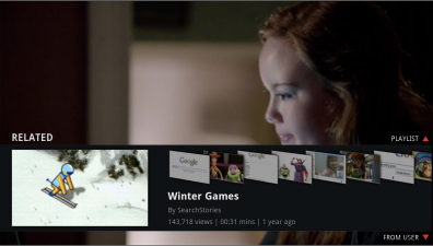 Google TV YouTube App
