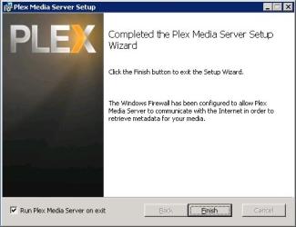 Plex Install