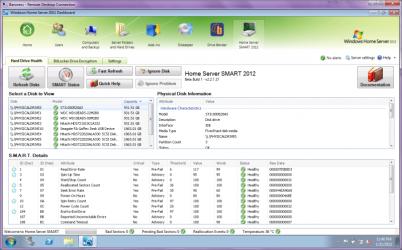 Home Server SMART 2012
