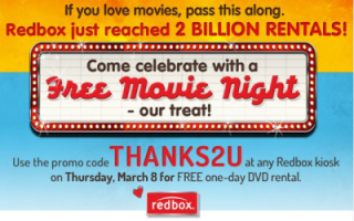 Redbox 3 Billion