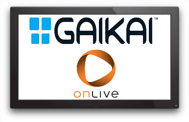 Gaikai and OnLive