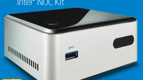 Intel Next Unit of Computing (NUC) DN2820FYKH - Celeron/Bay Trail SFF HTPC