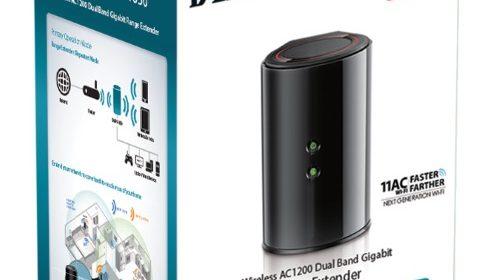 D-Link Dual Band AC1200 802.11AC (DAP-1650) Gigabit Range Extender