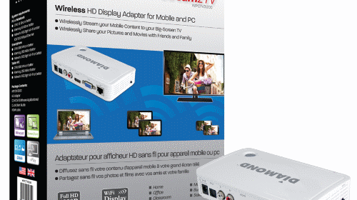 Diamond Multimedia STREAM2TV WPCTV3000 Miracast, iPlay, & DLNA Endpoint