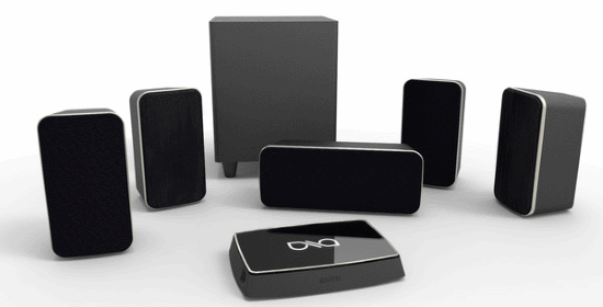 First Look axiim Q Wireless Home Theater System