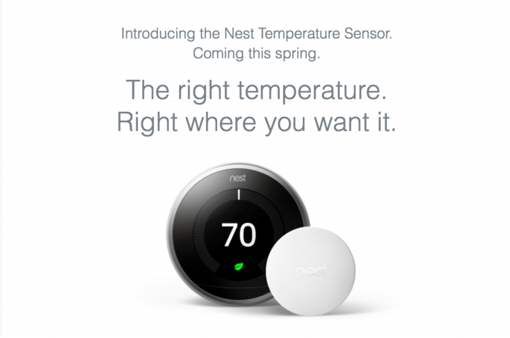 Nest Temperature Sensor Now Available For Pre
