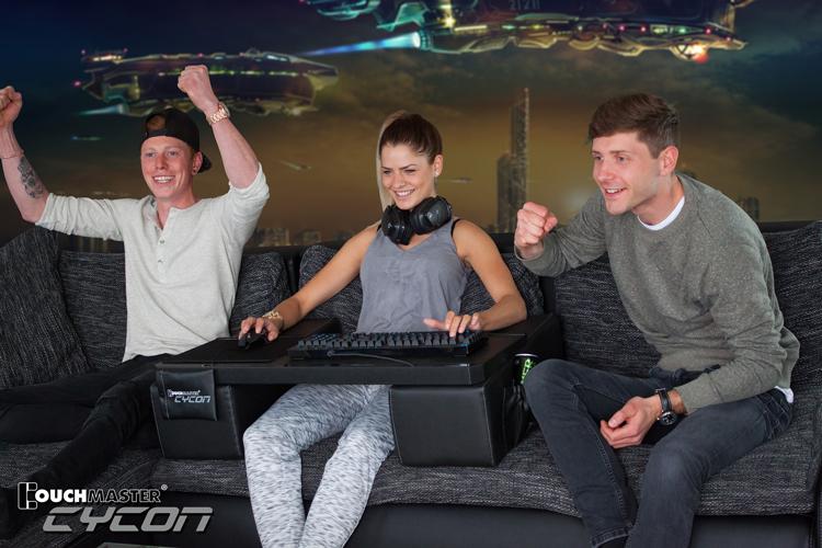 nerdytec Couchmaster Cycon Ergonomic tech seating