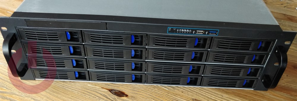 NORCO RPC-3216 3U rackmount 16 bay hot swap server chassis