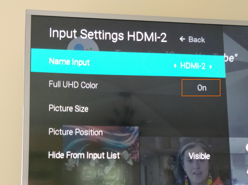 Get HDR working on Vizio P65-E1 over longer HDMI cables - Missing Remote