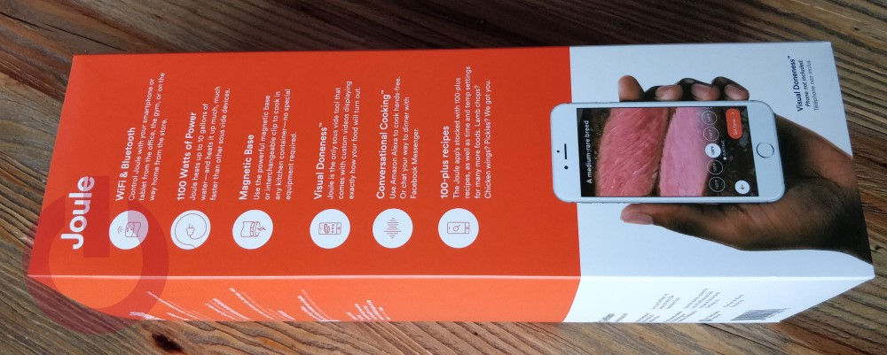 joule sous vide by chefsteps missing remote