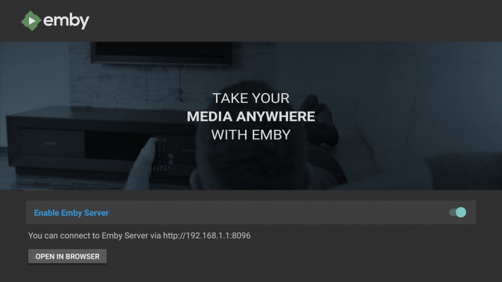 Nvidia Shield TV gets even better  Now has Emby server
