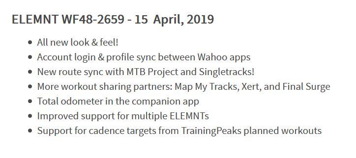 Wahoo Updates ELEMNT Firmware, forgets to add ANT+ Radar